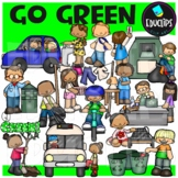 Go Green! Clip Art Bundle {Educlips Clipart}