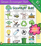 Go Green Scavenger Hunt Printable for Earth Day & Conservation
