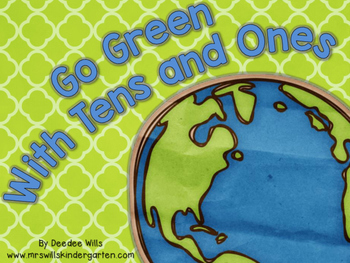 Go Green with tens and ones-FREEBIE