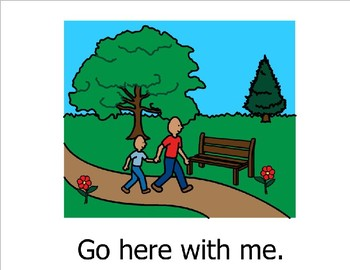 Go Here With Me (Sight Word Story Book to support Reading Street K)