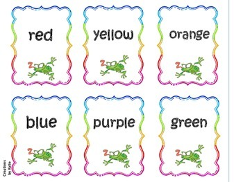 Go Hop! Colors and Color Words