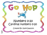 Go Hop! Numbers 1-20 and Cardinal Numbers
