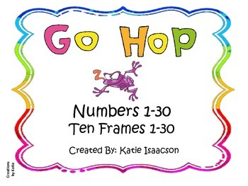 Go Hop! Numbers 1-30 and ten frames