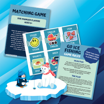 Go Ice Fishing: /s/ Cluster Card Game!