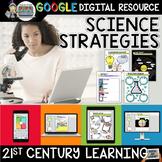 Science Strategies Digital Notebook Paperless Google Drive Resource