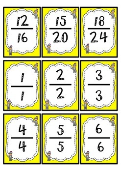 Go Knight!- Equivalent Fractions