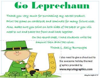 Go Leprechaun!