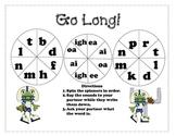 Go Long! - long vowel pattern word spinners
