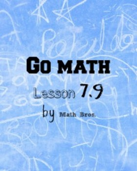 Go MaTH Lesson Plans Unit 7 Grade 5