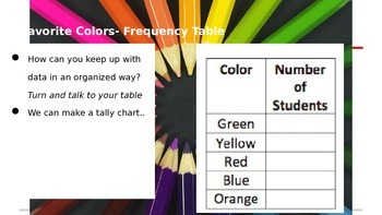 Go Math 19.1 Frequency Table Practice