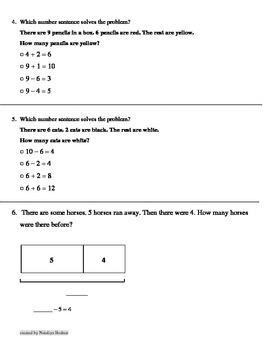 Go Math 1st Grade Chapter 2 Review