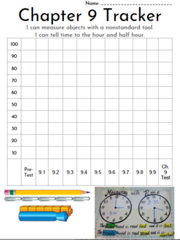 Go Math 1st Grade Data Trackers