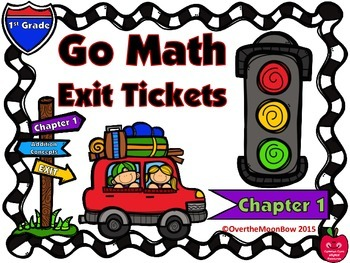 Go Math 1st Grade Exit Tickets – Chapter 1: Addition Concepts