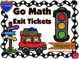 Go Math 1st Grade Exit Tickets – Chapter 11: 3-D Shapes Geometry
