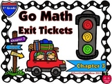 Go Math 1st Grade Exit Tickets – Chapter 3: Addition Strategies