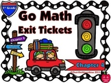 Go Math 1st Grade Exit Tickets – Chapter 4: Subtraction Strategies
