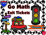 Go Math 1st Grade Exit Tickets – Chapter 6: Count & Model Numbers