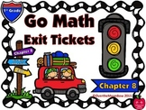 Go Math 1st Grade Exit Tickets – Chapter 8: Two-Digit Addition & Subtraction