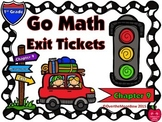Go Math 1st Grade Exit Tickets – Chapter 9: Measurement & Time