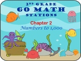 Go Math ~ 2nd Grade Chapter 2 Math Centers/Stations ~ Common Core