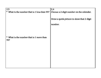 Go Math 2nd Grade Chapter 2 Problem of the Day and Assessment Tool