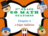 Go Math ~ 2nd Grade Chapter 4 Math Centers/Stations ~ Common Core