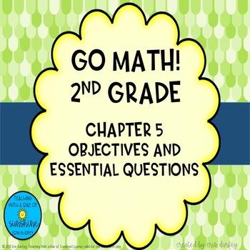 Go Math! 2nd Grade Chapter 5 Objectives