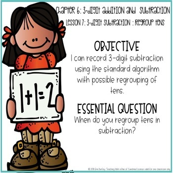 Go Math! 2nd Grade Chapter 6 Objectives