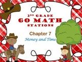 Go Math ~ 2nd Grade Chapter 7-10 Bundle Math Centers/Stati