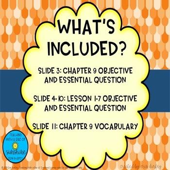 Go Math! 2nd Grade Chapter 9 Objectives