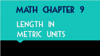 Go Math 2nd Grade Chapter 9 Powerpoints (Zipped)