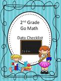 Go Math 2nd Grade Data Checklists