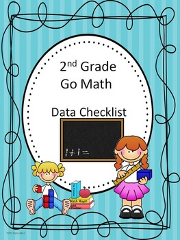 Go Math 2nd Grade Data Checklists