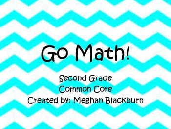 Go Math! 2nd Grade Focus Wall
