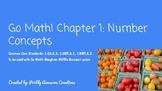 Go Math! 2nd grade Vocabulary Warm ups Chapter 1 & Word Wa
