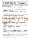 Go Math 3rd Grade Anchor Chart