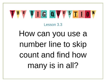 Go Math 3rd Grade Big Question Posters Ch 3