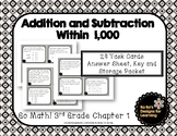 Go Math! 3rd Grade Chapter 1 Addition and Subtraction Within 1,000
