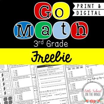 Go Math 3rd Grade: Chapter 1  Assessment