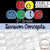 Go Math Grade 3: Chapter 10 Supplement - Division Concepts
