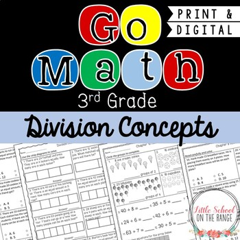 Go Math 3rd Grade: Chapter 10 Supplement - Division Concepts