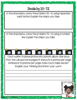 Go Math! 3rd Grade Chapter 7: Division Facts and Strategies Resource Pack!