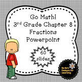 Go Math! 3rd Grade Chapter 8 Learning About Fractions Powerpoint