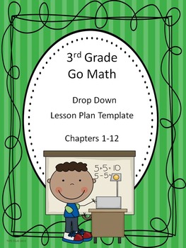 Go Math 3rd Grade Drop Down Lesson Plan Template