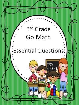 Go Math 3rd Grade Essential Questions