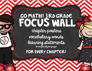 Go Math! 3rd Grade Focus Wall