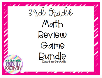 Go Math 3rd Grade GROWING BUNDLE