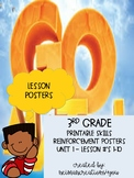 CHAPTER 1: Go Math! 3rd Grade: Lesson Reinforcement Wall P