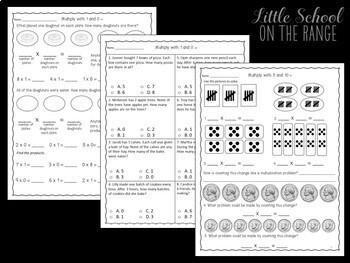 Go Math 3rd Grade: Unit 2 BUNDLE - Chapters 6 through 9