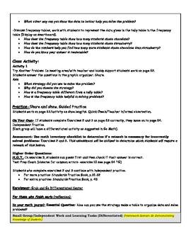 Go Math Grade 3  Unit 2 updated with DANIELSON FRAMEWORK